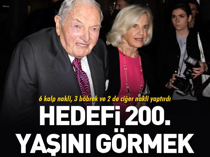 David Rockefellerın Hedefi 200 Yaşını Görmek Ahaber