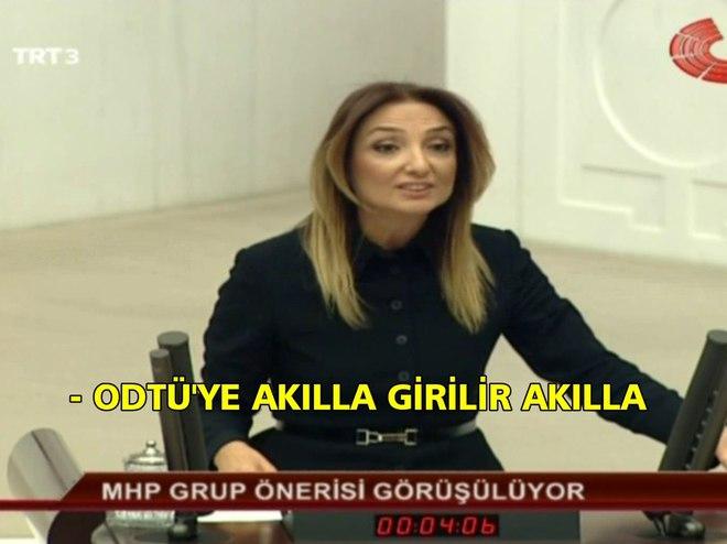 ODTÜ'YE AKILLA GİRİLİR DEDİ, MECLİS KARIŞTI