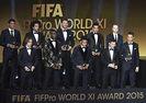 FIFA 2015 YILIN EN İYİLERİ ÖDÜLLERİNİ ALDI