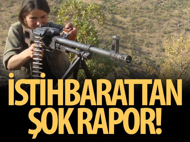 PKK'NIN KESKİN NİŞANCILARI İSTİHBARAT RAPORLARINDA