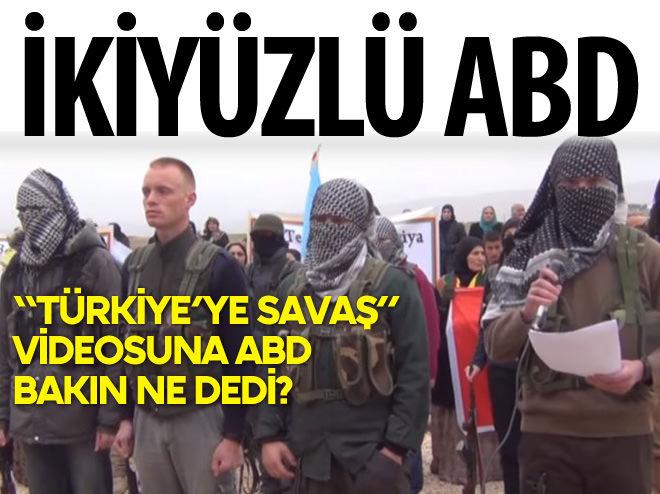ABD'DEN YPG'NİN VİDEOSUNA TEPKİ