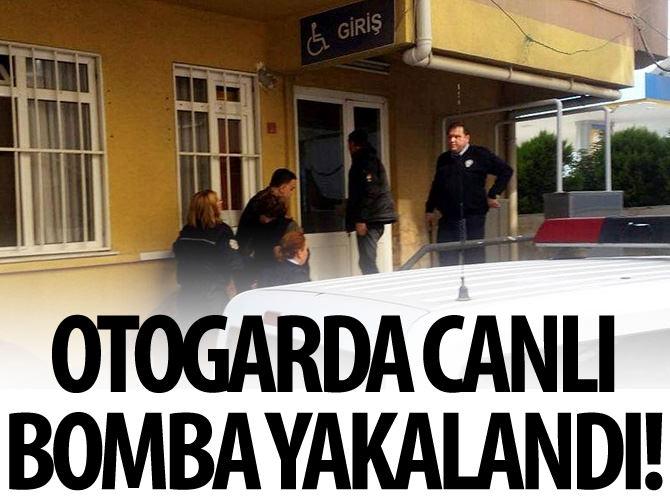OTOGARDA 'CANLI BOMBA' YAKALANDI