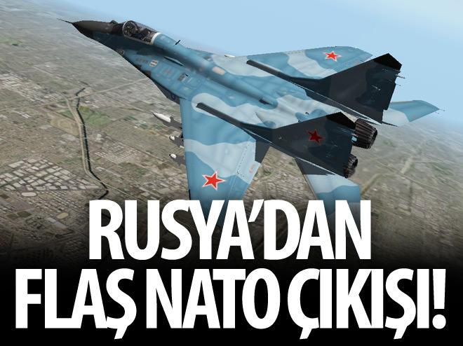 RUSYA'DAN 'NATO HAVA SAHASI' TEPKİSİ