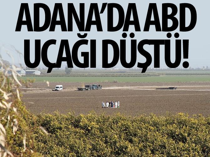 ABD'NİN İNSANSIZ HAVA ARACI ADANA'YA DÜŞTÜ