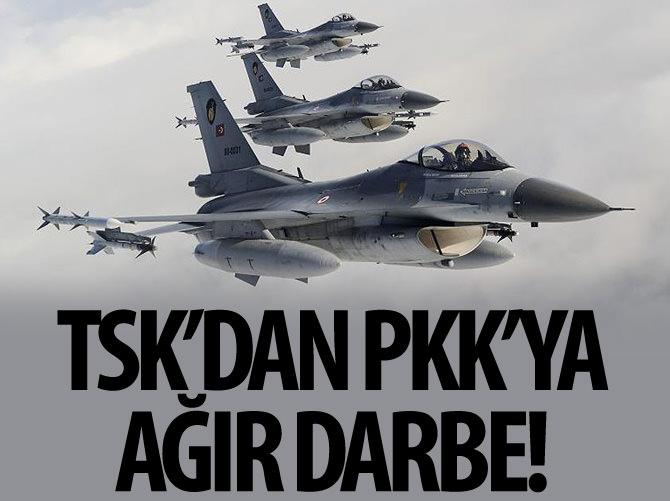 TSK'DAN PKK'YA AĞIR DARBE!