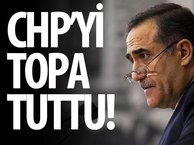 İHSAN ÖZKES CHP'Yİ TOPA TUTTU!
