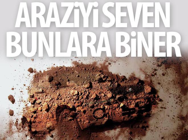 ARAZİYİ SEVEN BUNLARA BİNER