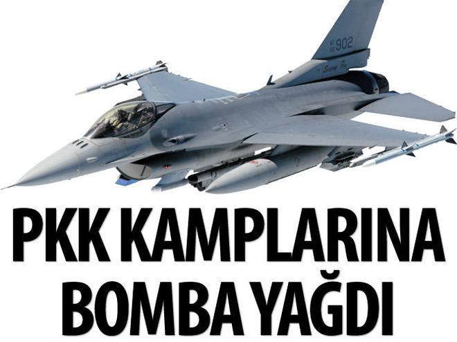 TSK, KANDİL'E BOMBA YAĞDIRDI