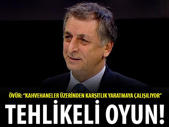 """""""KAHVEHANELER ÜZERİNDEN KARŞITLIK YARATMAYA ÇALIŞILIYOR"""""""