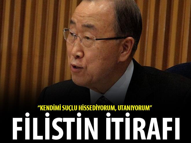 BM'DEN FİLİSTİN İTİRAFI!