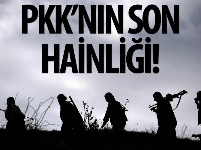 PKK'NIN YENİ HAİNLİĞİ: KÜÇÜK ÇOCUKLAR!
