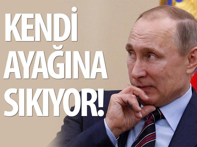 RUSYA KENDİ AYAĞINA SIKIYOR!