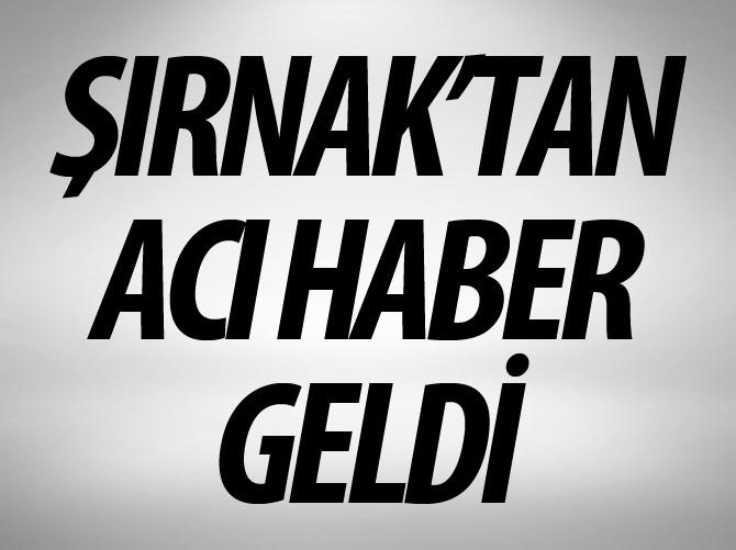ŞIRNAK'TA TERÖR SALDIRISI: 2 ŞEHİT