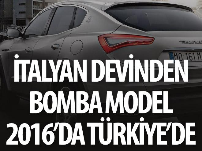 İTALYAN DEVİNDEN BOMBA MODEL 2016'DA TÜRKİYE'DE
