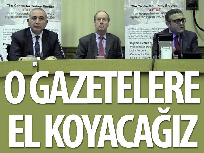 CHP'Lİ TEKİN YİNELEDİ: O GAZETELERE EL KOYACAĞIZ!