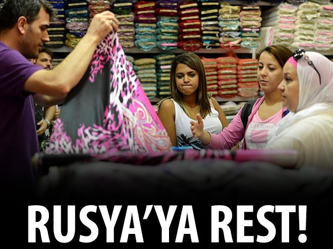 ARAPLARDAN RUSYA'YA TATİL RESTİ!