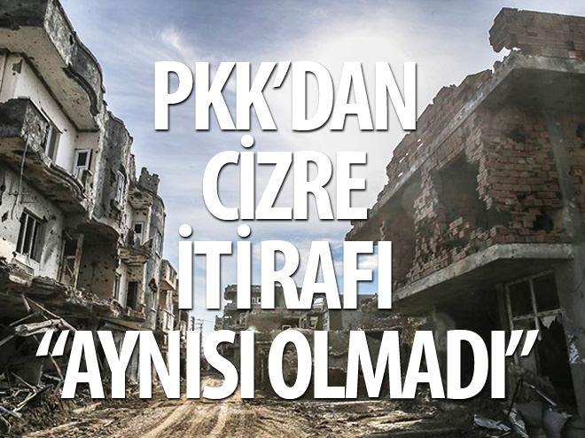 PKK: KOBANİ'DEKİ GİBİ OLMADI