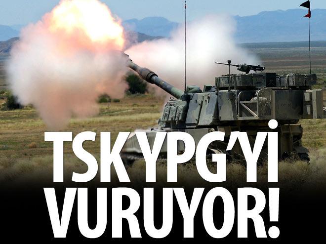 TSK AZEZ'DE YPG'Yİ VURUYOR