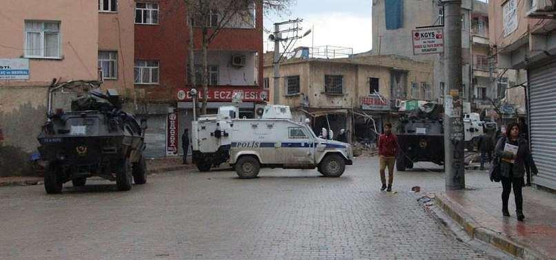 NUSAYBİN'DE POLİSE SALDIRI: 1 YARALI