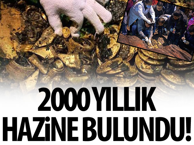 HUN KRALINA AİT 2000 YILLIK HAZİNE BULUNDU!