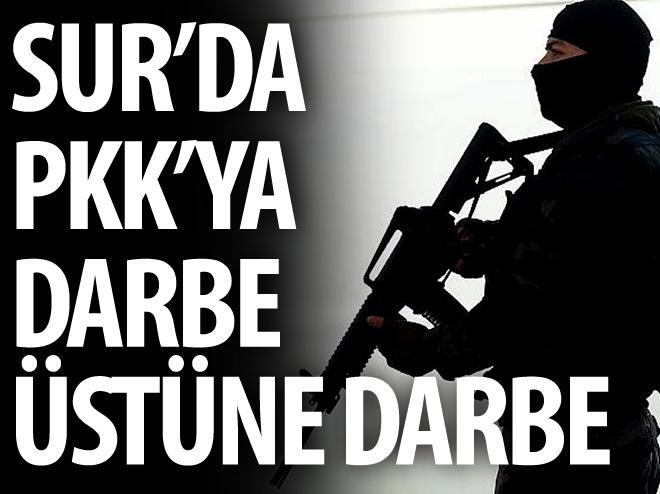 SUR'DA PKK'YA DARBE ÜSTÜNE DARBE!