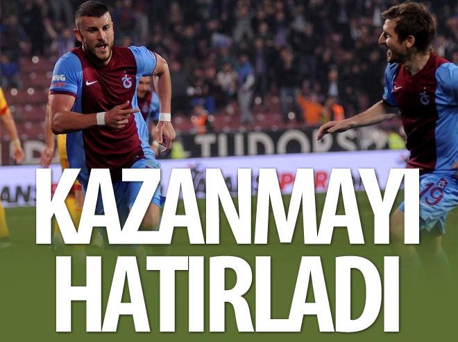 TRABZONSPOR KAZANMAYI HATIRLADI