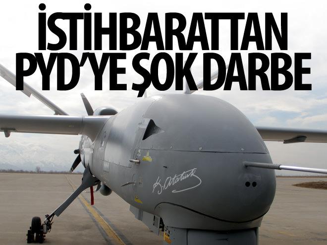 İSTİHBARATTAN PYD'YE ŞOK DARBE