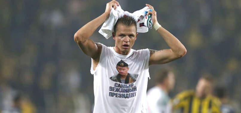 UEFA'DAN LOKOMOTİV MOSKOVALI OYUNCUYA ŞOK!