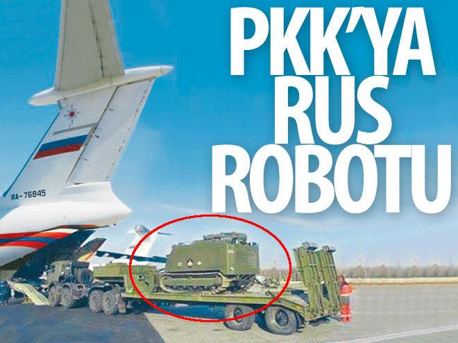 PKK'YA RUS ROBOTU
