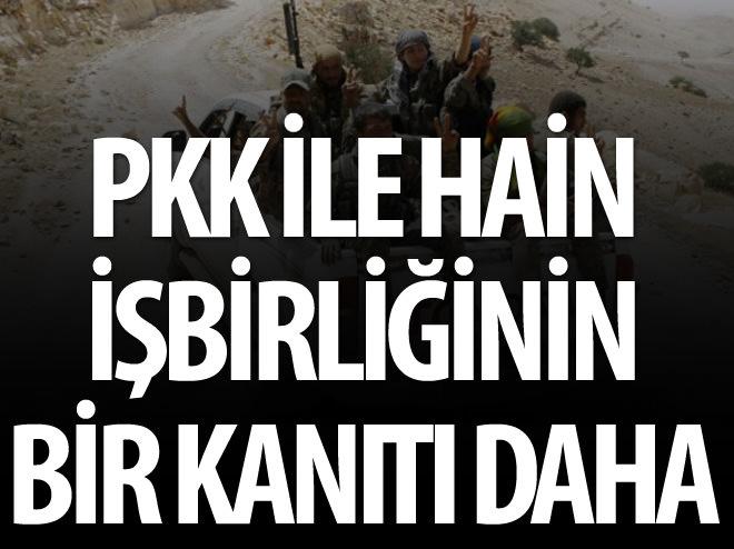 PYD EŞİTTİR PKK'NIN BİR KANITI DAHA