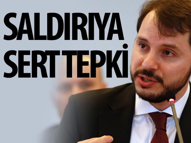 BERAT ALBAYRAK'TAN SALDIRIYA SERT TEPKİ