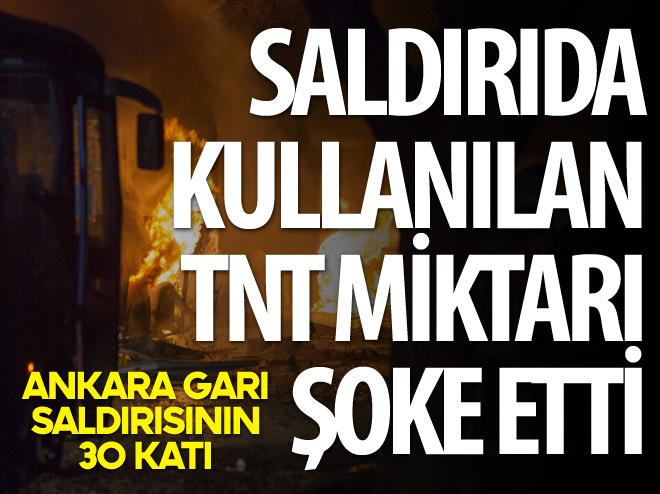 SALDIRIDA KULLANILAN TNT'NİN MİKTARI ŞOKE ETTİ