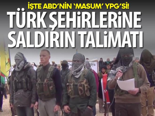 İŞTE ABD'NİN 'MASUM' YPG'Sİ!