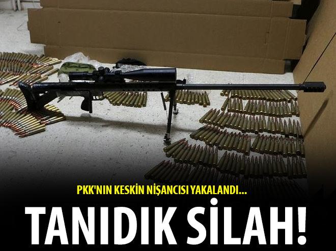PKK'NIN KESKİN NİŞANCISI YAKALANDI