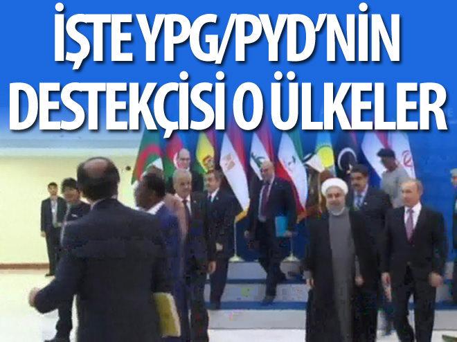 İŞTE YPG'NİN DESTEKÇİSİ OLAN ÜLKELER