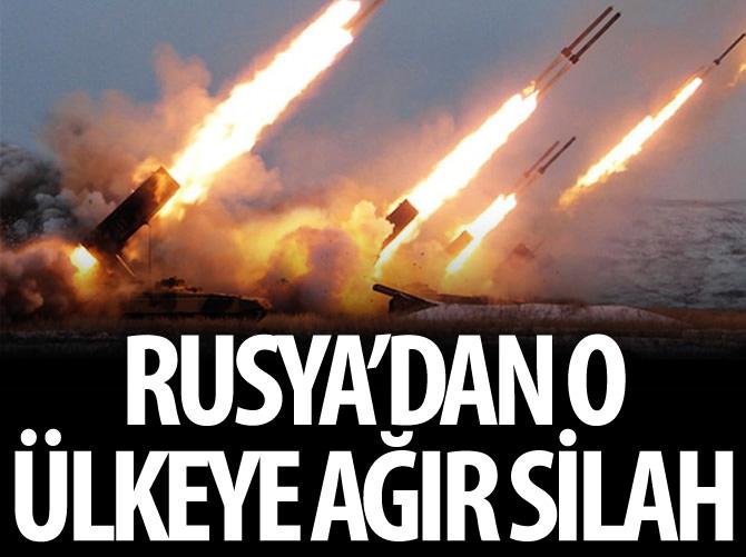 RUSYA'DAN ERMENİLERE AĞIR SİLAH