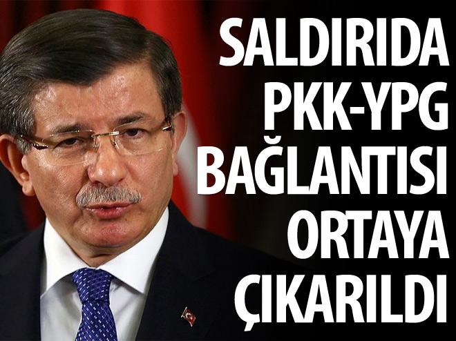 DAVUOĞLU: PKK-YPG BAĞLANTISI ORTAYA ÇIKARTILDI