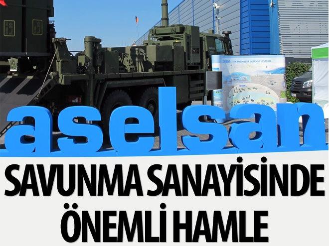 ASELSAN'DAN SAVUNMA SANAYİSİNDE ÖNEMLİ HAMLE