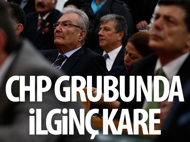 CHP GRUBUNDA İLGİNÇ KARE