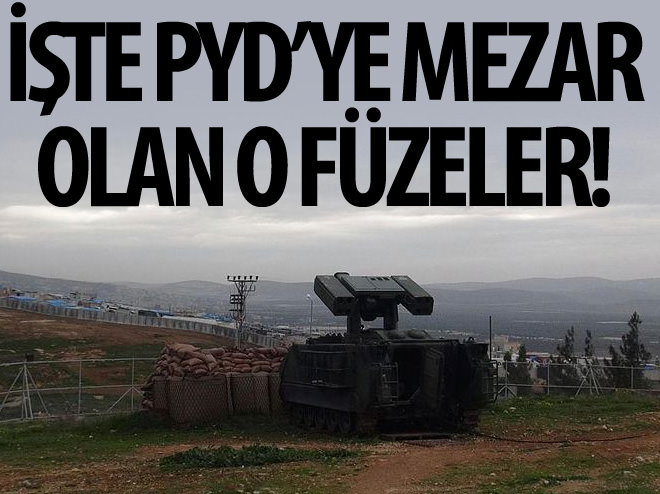 İŞTE PYD'Yİ VURAN FÜZELER!