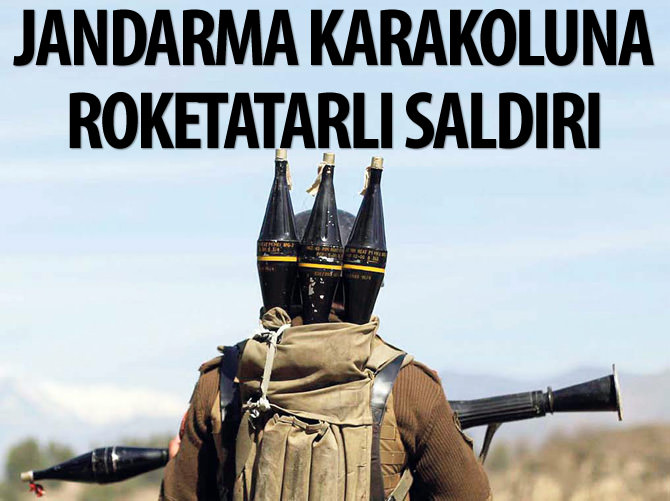 İZMİR'DE JANDARMA KARAKOLUNA ROKETATARLI SALDIRI