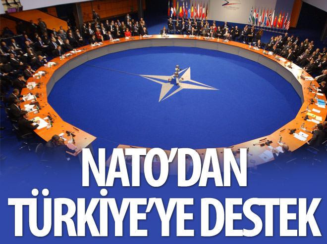 NATO'DAN TÜRKİYE'YE DESTEK