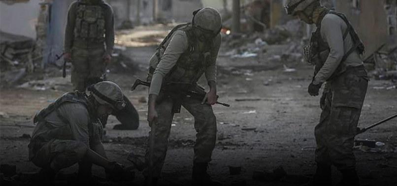 NUSAYBİN'DE YPG HENDEĞİ