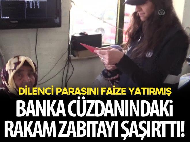 DİLENCİNİN BANKA DEFTERİNDEKİ RAKAM ŞAŞIRTTI!