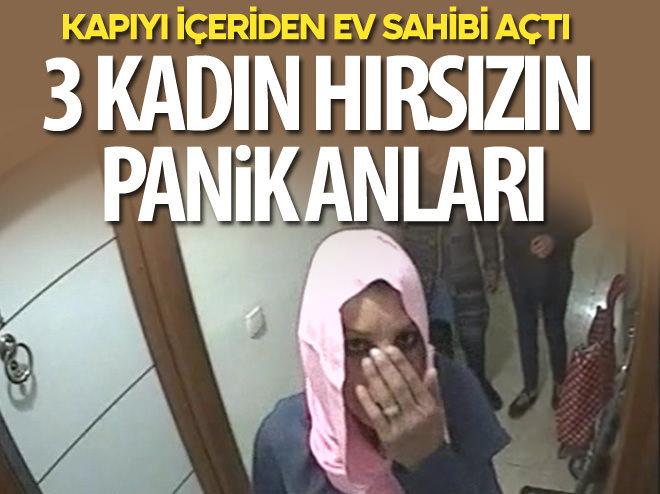 HIRSIZLIK İÇİN GELDİKLERİ KAPI İÇERİDEN AÇILINCA...