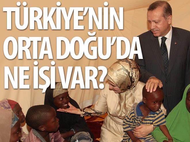 TÜRKİYE ORTA DOĞU'DA NE YAPIYOR!