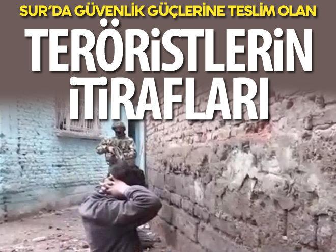 TESLİM OLAN PKK'LILARDAN ASKERE: PİŞMAN OLDUK
