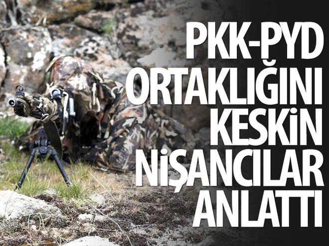 KESKİN NİŞANCILAR PKK-PYD ORTAKLIĞINI ANLATTI