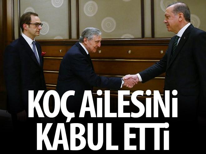 CUMHURBAŞKANI ERDOĞAN, BAŞBAKAN DAVUTOĞLU'NU KABUL ETTİ