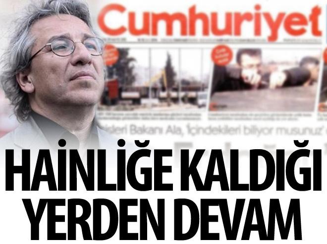CUMHURİYET GAZETESİ'NDEN PKK SKANDALI